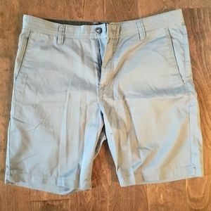 Men's Dark Blue Volcom Modern Stretch Shorts